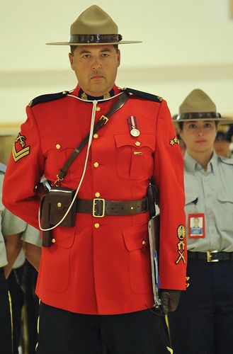 Sergeant Major of the Mounties,Depot Division,Regina,Canada