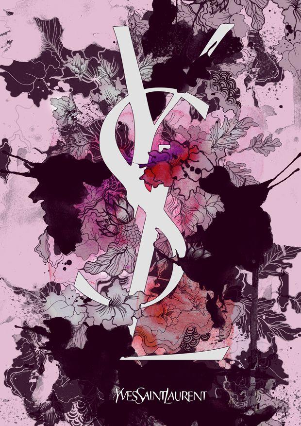 Yves Saint Laurent - Brands in Full Bloom by Daryl Feril