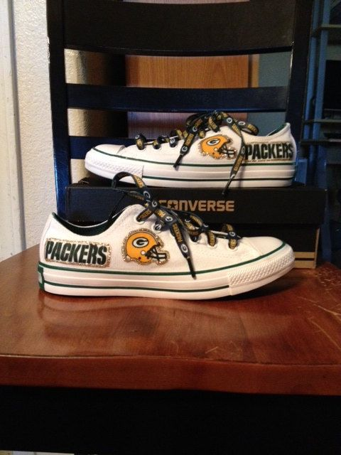 Women's Green Bay Packers/WITHOUT Glitter by 5ruffz on Etsy, $95.95