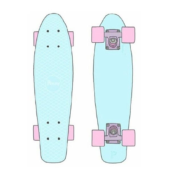 Penny Board transparent:)