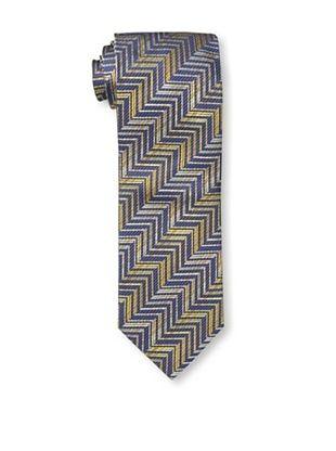 53% OFF Missoni Men's Zig Zag Tie, Yellow/Blue