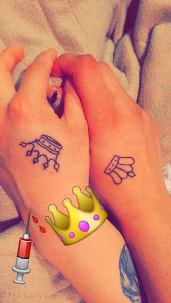 Queen And King Tattoos Tumblr
