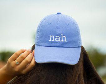 Nah Baseball Cap by DalmatiaCo on Etsy 9194843ccbfc