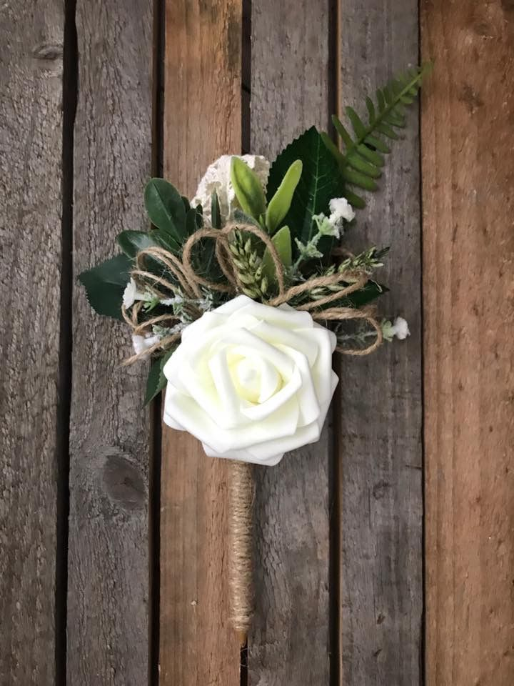 Rustic flower pen