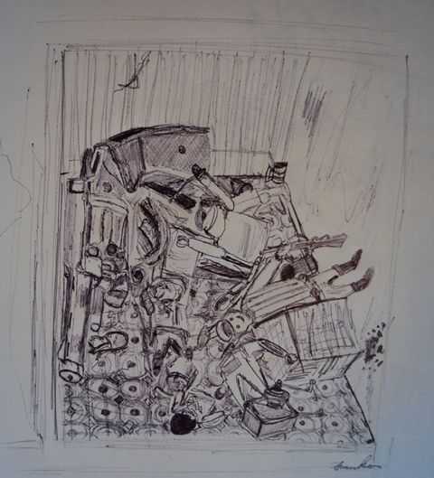 Pen and birow 2011 'Kitchen, Dolly's House'