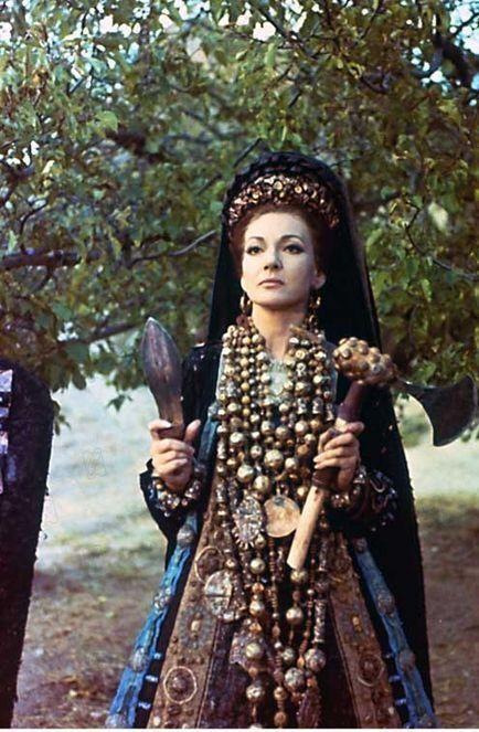"""Maria Callas - """"Medea"""" (1969) - Costume designer : Piero Tosi"""