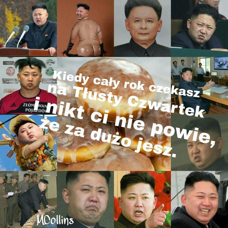 Pączki Kim Dzong Un'a