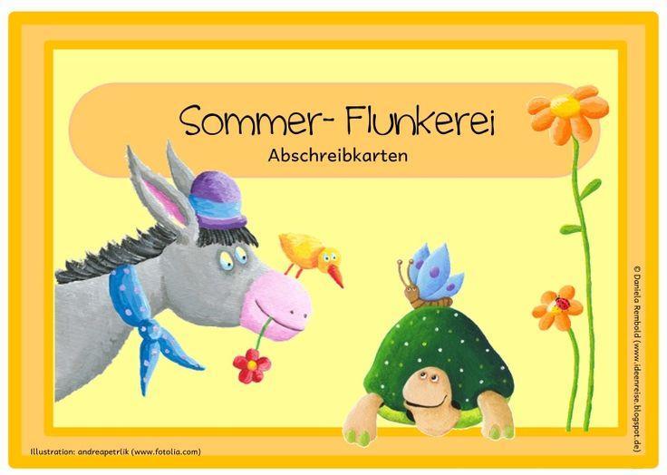 Deutsch in der Grundschule: Abschreibkartei
