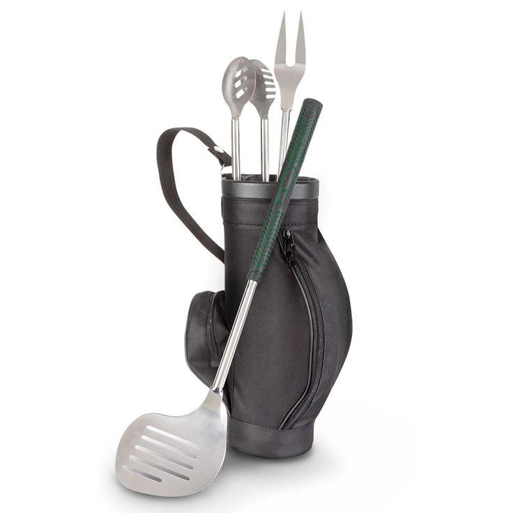 The Golfer's Grill Clubs - Hammacher Schlemmer