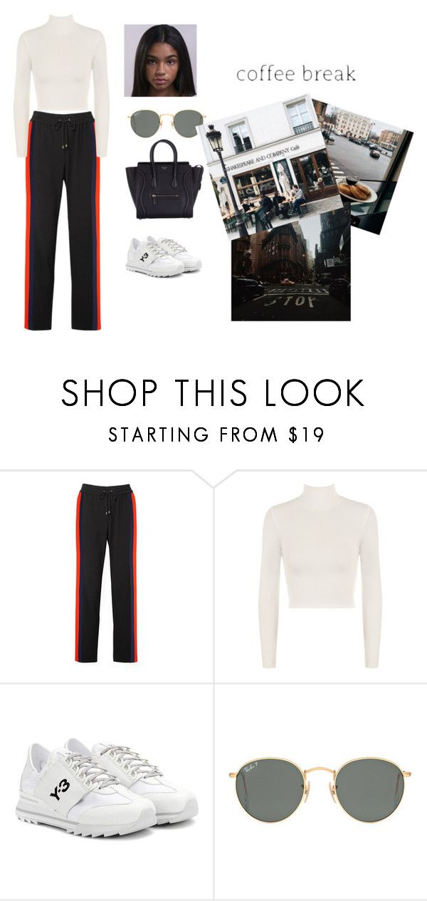 """Sin título #801"" by masg ❤ liked on Polyvore featuring Kenzo, WearAll, Y-3, Ray-Ban and CÉLINE"