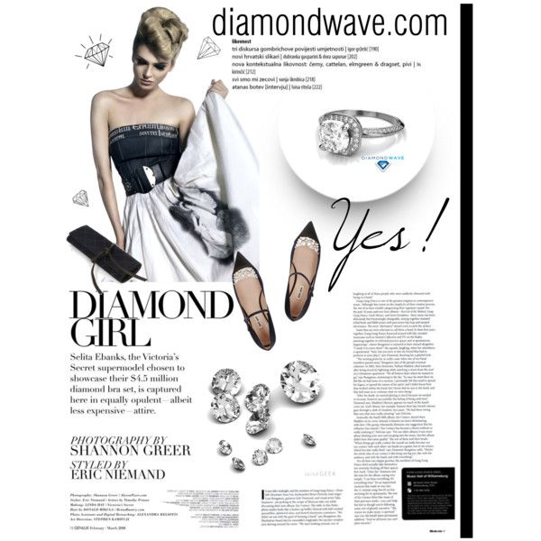 Diamondwave by isatusia on Polyvore featuring moda, Chanel and diamondwave