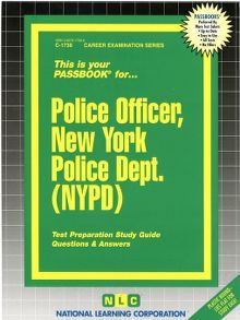 Police Officer, New York Police Dept. (NYPD) - one of the new Civil Service Test Prep eBooks added to our collection.