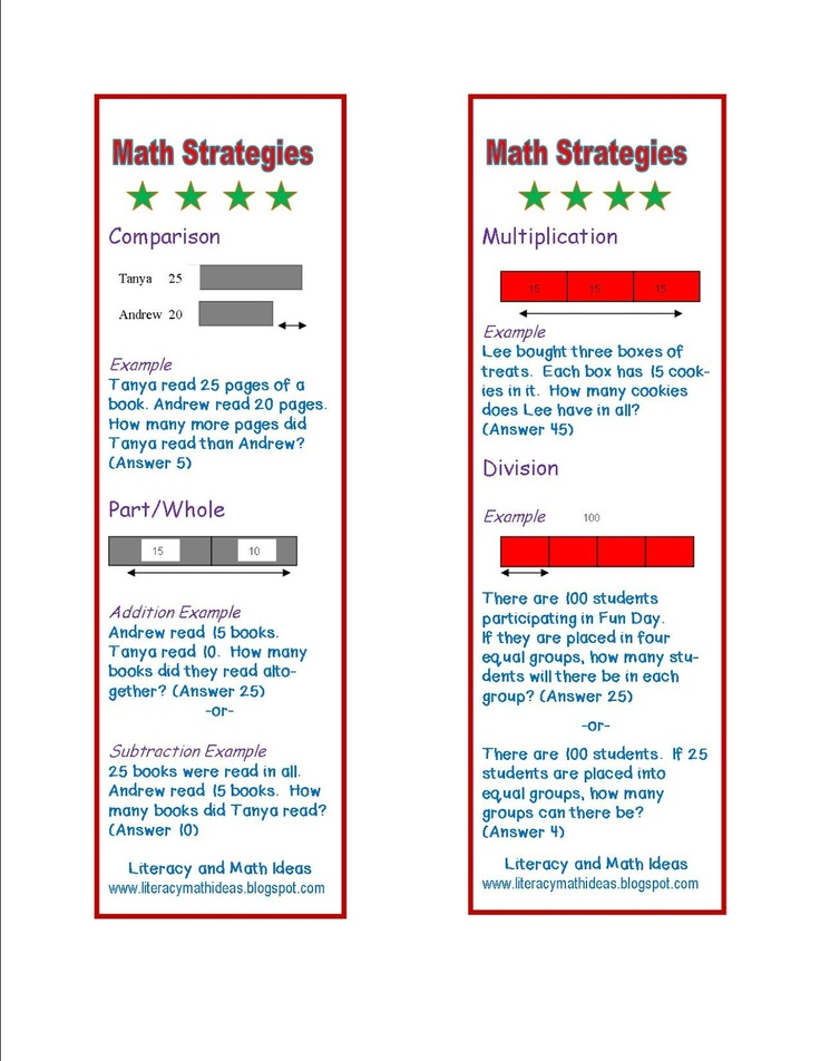 55 best Math Problem Solving images on Pinterest | Teaching ideas ...