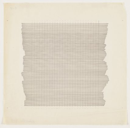 Agnes Martin was a Canadian born, Vancouver raised artist who came to the United States at the age of 20, where she lived for most of her life. Influenced by the vast landscape she grew up surrounded by and by artists such as Mark Rothko, Donald Judd and Barnett Newman, her spare, paired down artistic style is often considered a minimalist art.