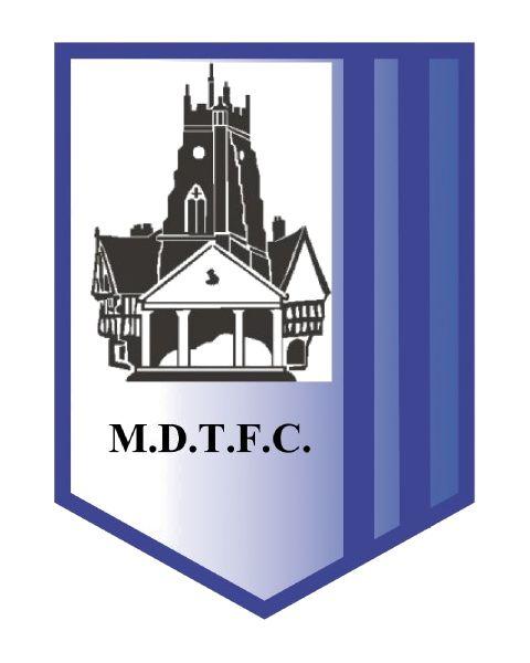 1969, Market Drayton Town F.C. (England) #MarketDraytonTownFC #England #UnitedKingdom (L16455)