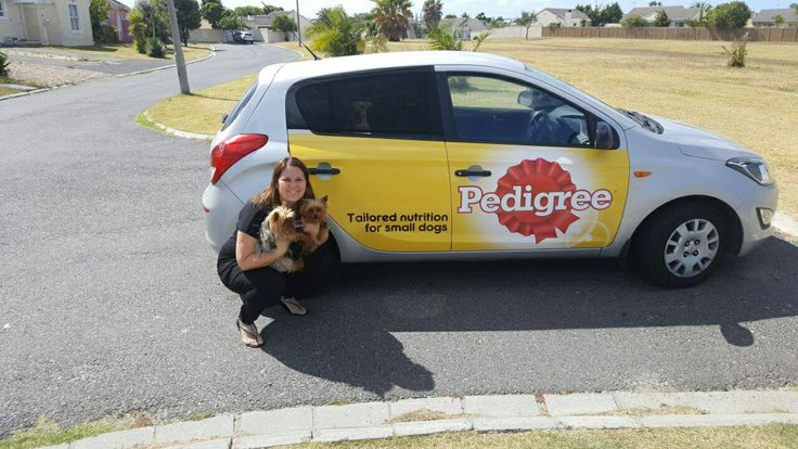 One of our #PedigreeSA drivers getting paid to get the conversation started. #EarnExtraCash #BrandYourCar #Bucks4Influence