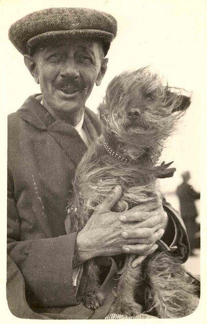 Man And His Dog (Credit: Libby Hall Dog Photos).