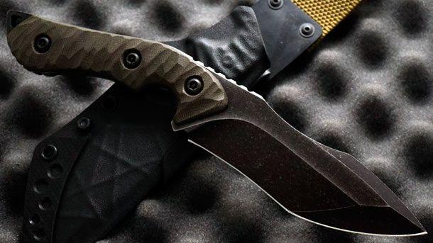 Torbé Custom Knives представили оригинальный утилитарный нож Absinthe Bogey