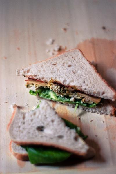 Chicken Sandwich - Healthy Take away Lunch Idea