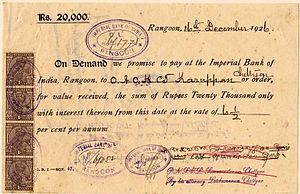 Promissory note - Wikipedia, the free encyclopedia