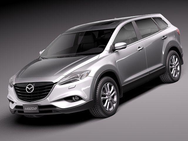 Mazda Cx9 Cx 9 2013 Max - 3D Model