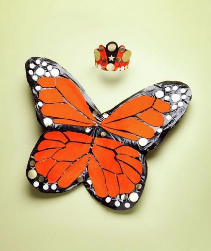 How To: Make Butterfly Wings | Dress up your kids in fun costumes you make with everyday household items.