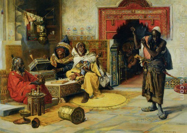 Berber Moors | http://framingpainting.com/Uploadpic/Gyula%20...