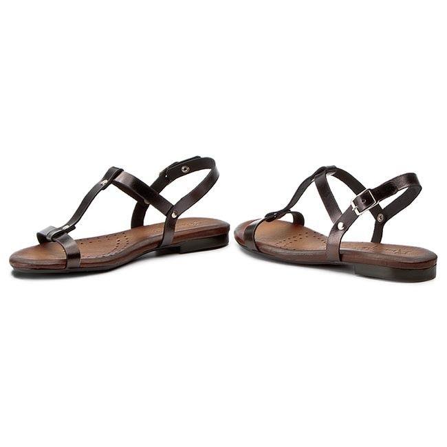Sandały MACIEJKA - 03160-20/00-0 Czarny Metalik