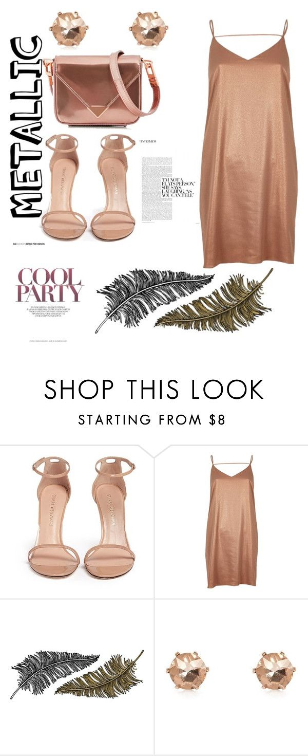 """Untitled #30"" by edithhlatshwayo on Polyvore featuring Stuart Weitzman, River Island, Paperself and Alexander Wang"