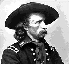 While General George Armstrong Custer particiapted in many battles as part of the United States Military he is best known for his defeat at Little Bighorn where his unit was surrounded by thousands of Lakota, Cheyenne and Arapaho warriors who killed all 210 of them.  This battle is also known as Custer's Last Stand.  While this battle cost Custer his life it earned him his fame forever.