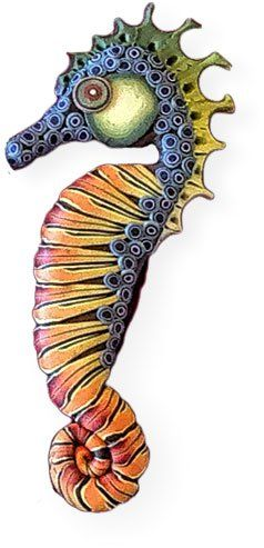 Polymer seahorse rodeo | Polymer Clay Daily