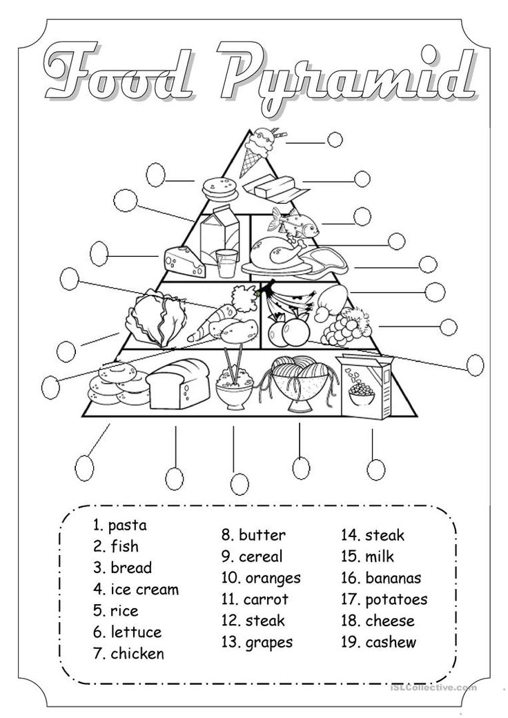 Playful image pertaining to free printable nutrition worksheets