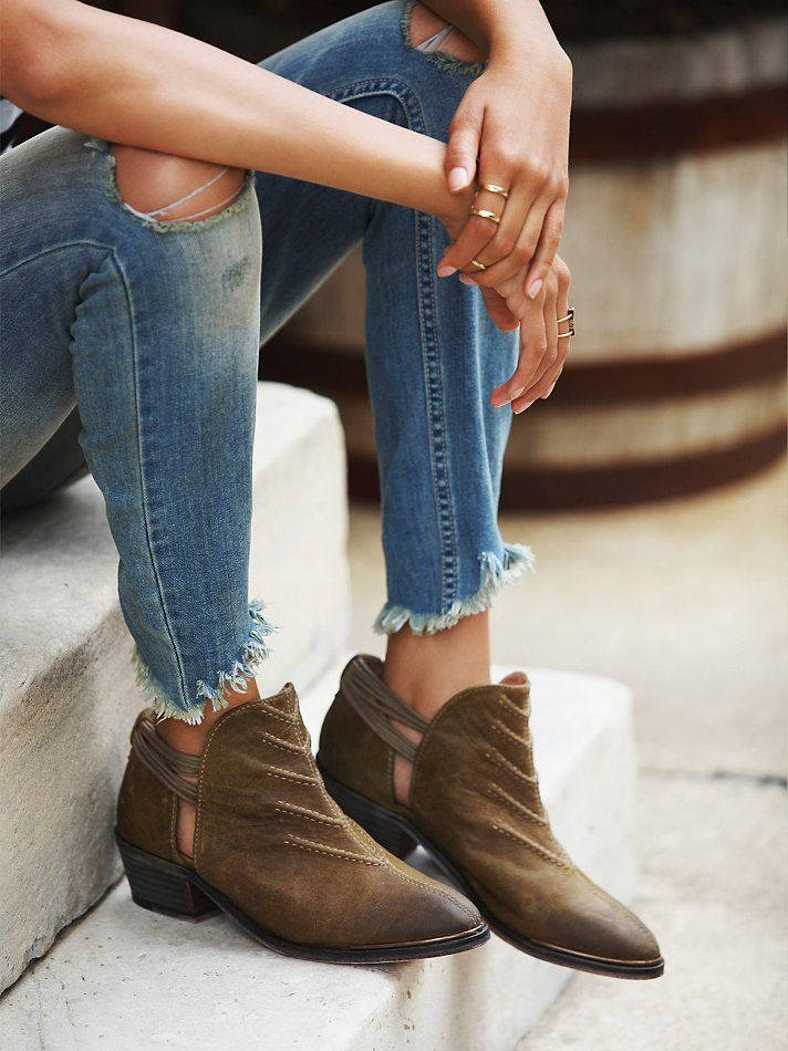Free People Southern Cross Ankle Boot at Free People Clothing Boutique