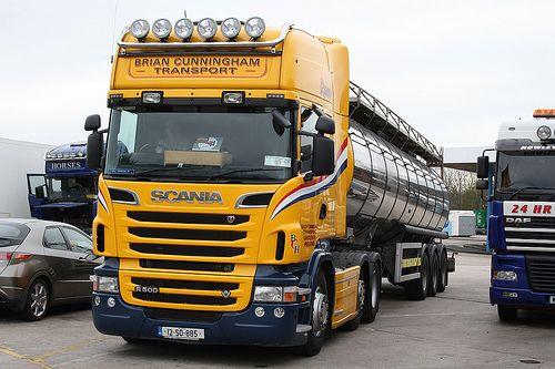 Scania R500 Brian Cunningham Transport 12-SO-885