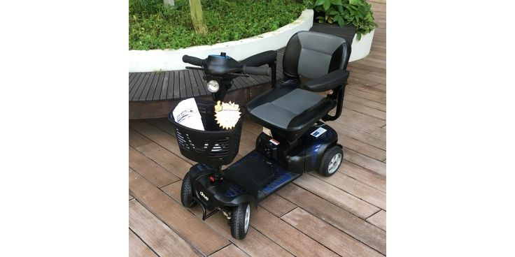 Pre-Owned Phoenix HD 4-Wheel Mobility Scooter - only $1,200! #mobilityscooter #electricwheelchair #preowned