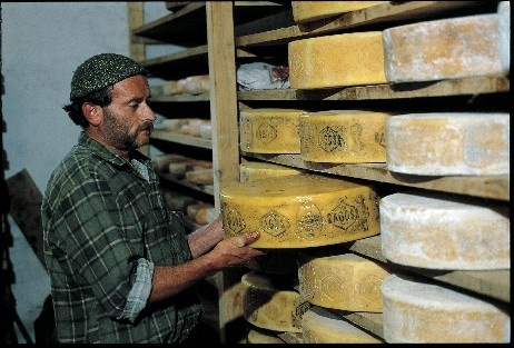 Bagolino, little town located in Valsabbia, Italy  Bagòss is a typical local #cheese