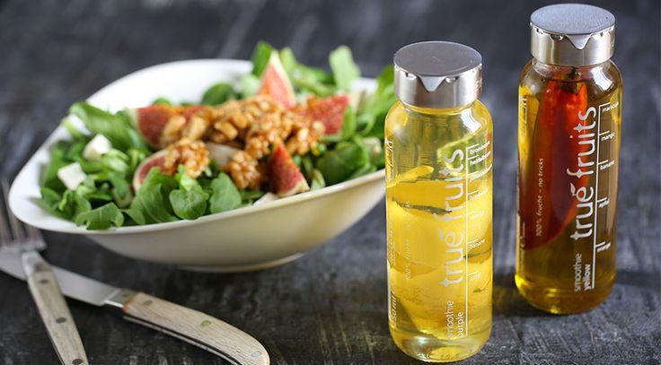 Der true fruits Upcycling-Shop: true fruits Flaschenaufsätze aus Edelstahl für deine leeren 250 ml und 750 ml Flaschen. Für ein Leben nach dem letzten Schluck!
