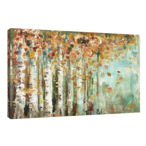 Found it at Wayfair - 'Aspen Strokes' by Tre Sorelle Studios Painting Print on Wrapped Canvas