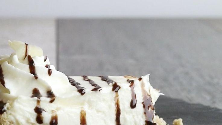 Kokos-Cheesecake ohne Backen