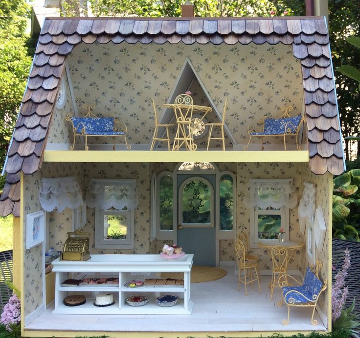 Dollhouse Design Cake : The 25+ best Pastry shop interior ideas on Pinterest ...