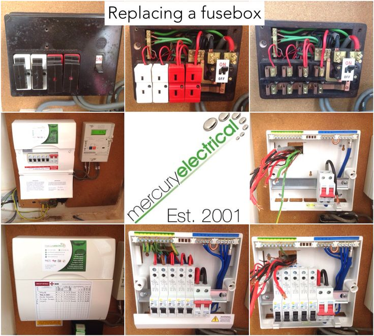 36 best images about Changing a fusebox on Pinterest