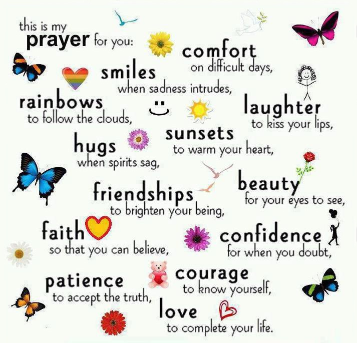 Love, Life, Hope, Faith, Quote