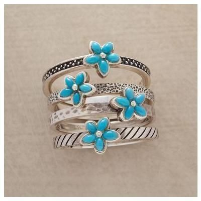 Turquoise rings
