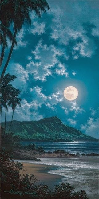 Pretty Diamond Head, Hawaii...