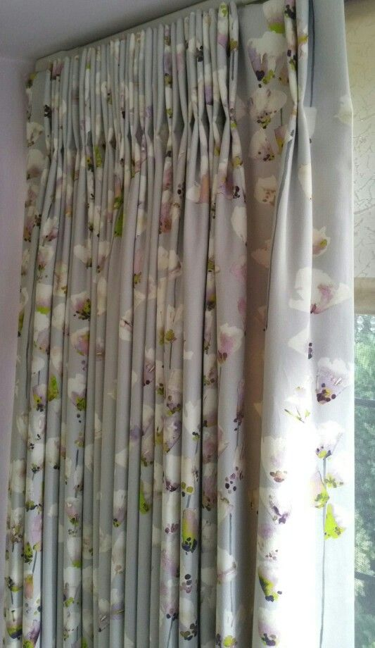 Made by DAB Interiors - Romo Honor Orchid curtains @romoblack