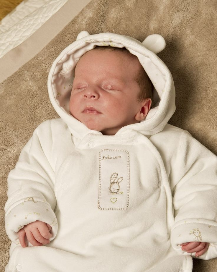 Our baby boys coats and pramsuits come in fun, bright colours and a range of designs. Pop any of them on over some of our great value baby clothes, and your little monster will be snug – and dry – as a bug.