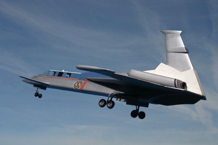 Spectrum Passenger Jet | Captain Scarlet | Gerry Anderson