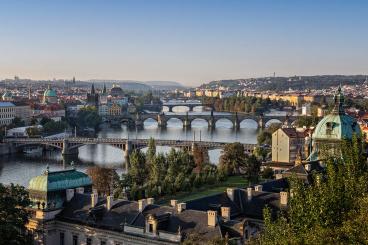 Prague in the Morning by Ron Bearry on 500px
