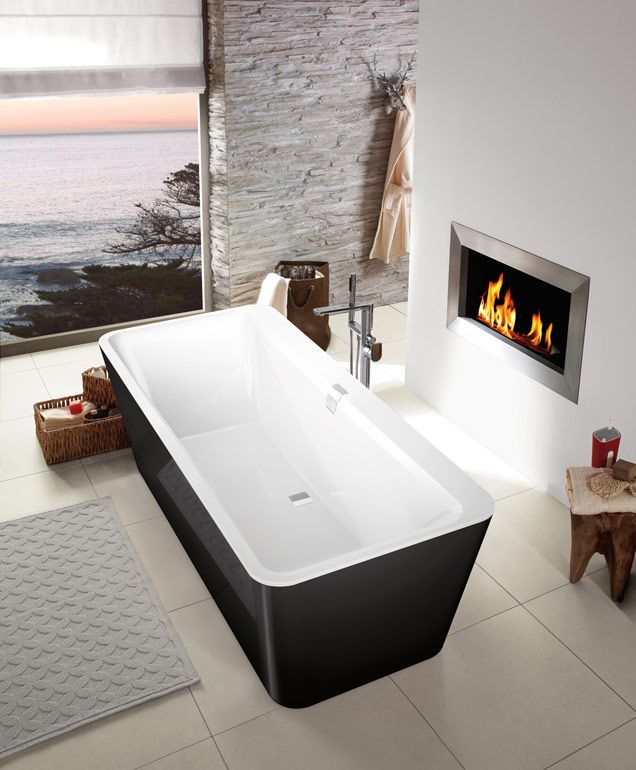 70 best Tinas de Baño images on Pinterest Bathroom tubs - badezimmer fliesen villeroy und boch