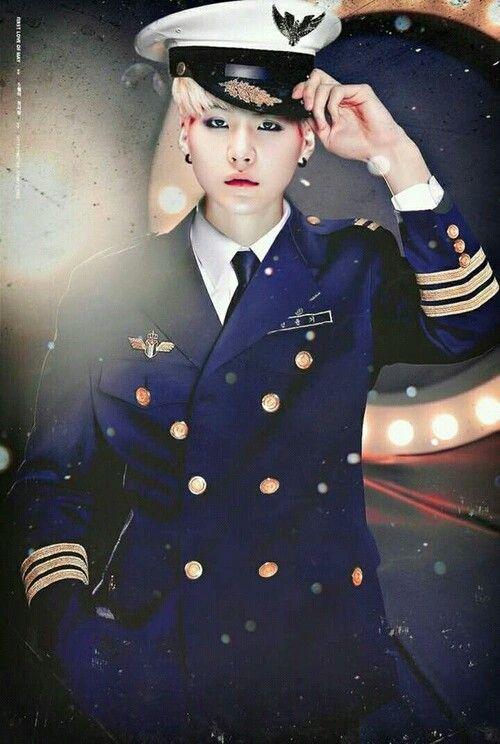 Aye Aye Captain. ;) Suga BTS